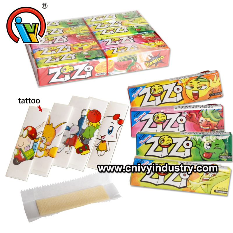 bubble gum manufacturer