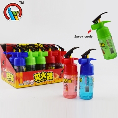 Fire Extinguisher shape spray candy