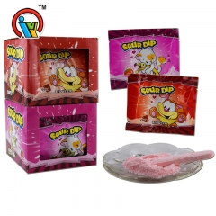 powder candy with pressed candy