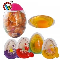 egg shape jelly candy